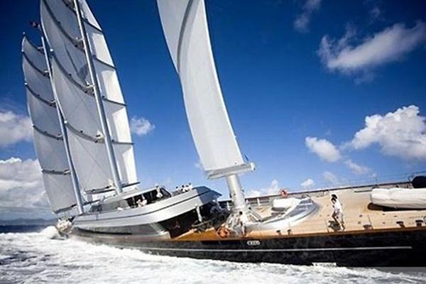 111216-yacht6 The Lap Of Speedy Luxury With $130 Million Maltese Falcon Sailing Yacht