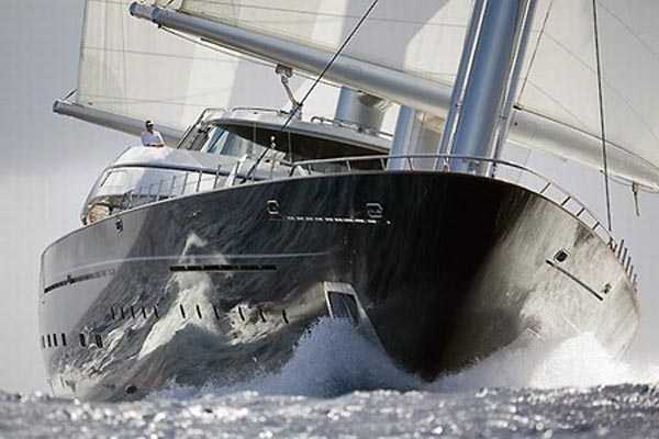111216-yacht8 The Lap Of Speedy Luxury With $130 Million Maltese Falcon Sailing Yacht