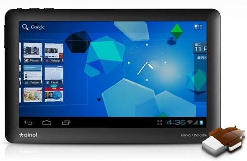 ainol_novo_knight World's First Official ICS Tablet