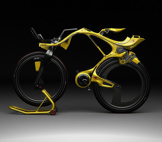 bike Four Unique Technology Concepts From 2011