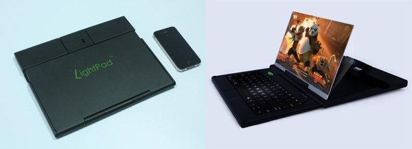 "light QP Lightpad Enlarges Your Smartphone Screen From 11"" to 60"""