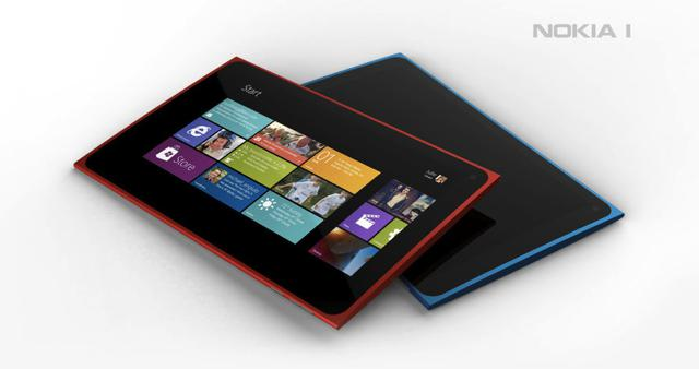 nokia1 The Nokia 1 Windows 8 Concept Tablet