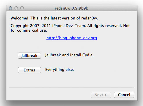 redsn0w-ios5-jailbreak Redsn0w iOS 5 Tethered Jailbreak Released, Still No Support for iPhone 4s Or iPad 2