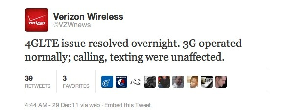 verizon-outage Verizon 4G Network Is Down Nationwide