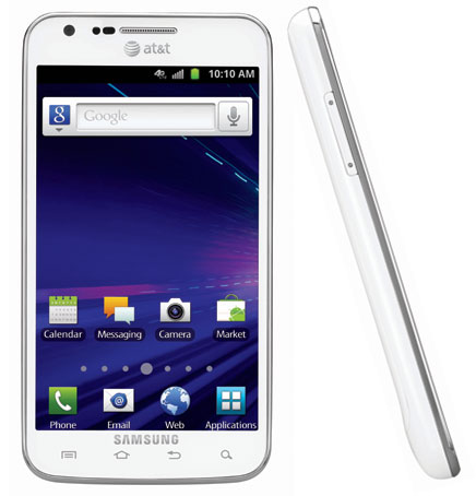whites Samsung Galaxy S II Skyrocket Coming To AT&T