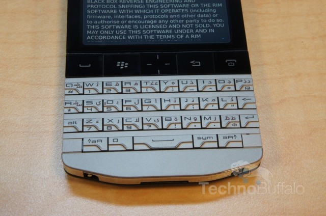 BlackBerry-P9981 Getting A Closer Look At The Blackberry Porsche P9981 (Video)