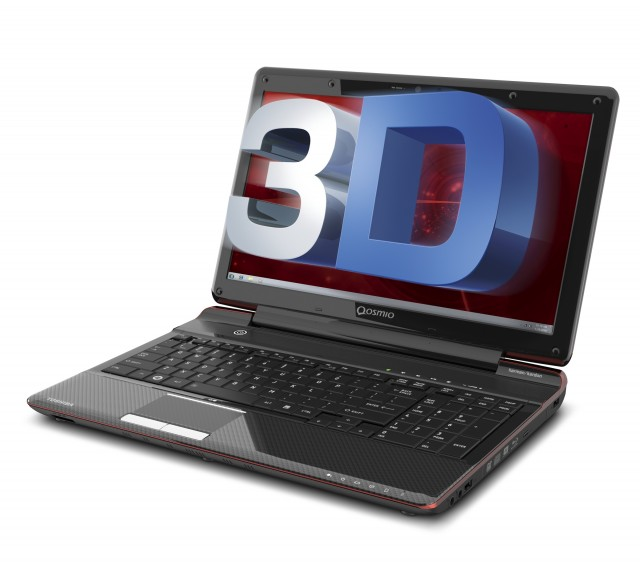 Qosmio_F755_3d_laptop-640x574 Toshiba's Qosmio F755 Gaming Laptop Goes Glasses-Free 3D