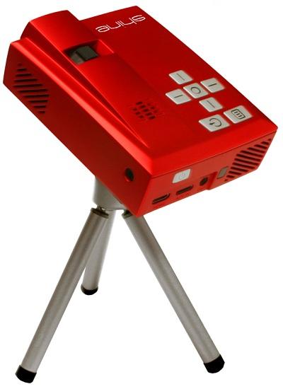 Shine_Tripod Velocity Micro Shine Is The 'Smallest HD-Capable' Projector