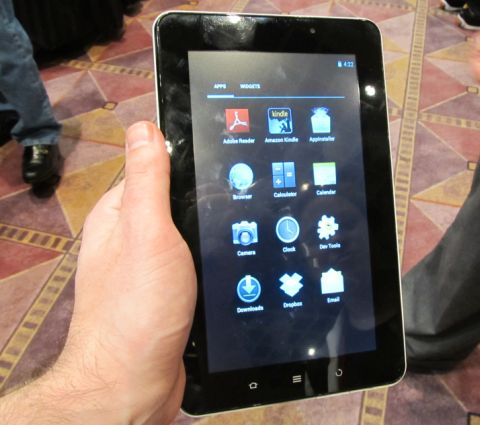 e1 Viewsonic Debuts $169 Android ICS Tablet