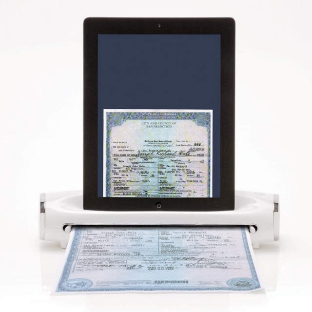 iconvert-ipad-scanner-640x640 iConvert Scanner Scans Paper To Your iPad Photos Folder