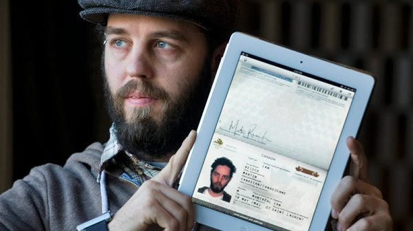 ipad_passport Canadian Man Uses iPad To Cross US Border