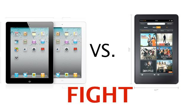ipadkindlefire iPad May Feel the Burn of Kindle Fire