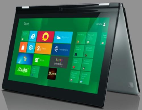 lenovo-yoga Lenovo IdeaPad Yoga: Windows 8 Tablet And Ultrabook In One