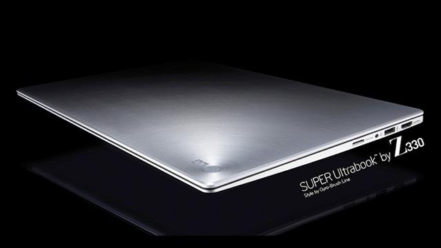 "lgx LG's ""Super Ultrabook"" Z330 Is The Skinnest MacBook Clone Yet"