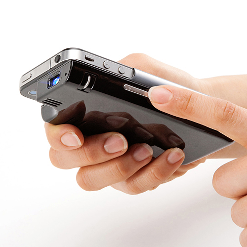 pro2 The iPhone 4 Pocket Projector Accessory