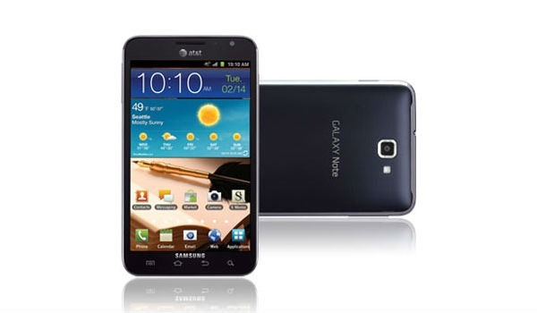 samsung_galaxy_note AT&T LTE Lineup Includes Samsung Galaxy Note, HTC Titan 2, Nokia Lumia 900 And More