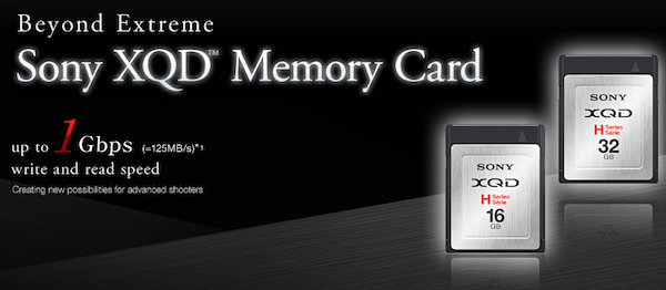 sony-xqd Sony Adopts XQD Flash Memory Card Format