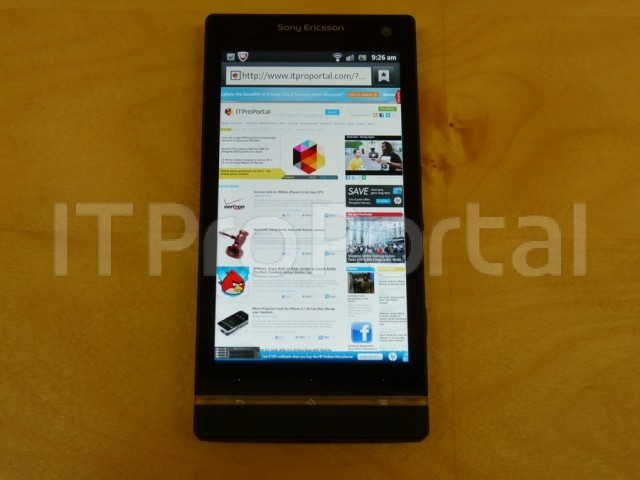 sonyphone-640x480 Pre-CES Leak Of Sony Ericsson 'Nozomi' Xperia HD