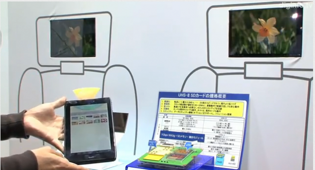 wigig Panasonic WiGig Tablet Allows Multi-Gigabit Wireless Transmissions