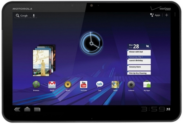xoom Select Motorola Xoom Owners Get ICS
