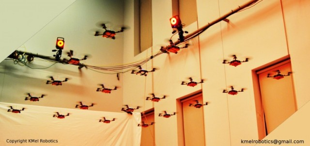 120203-swarm3-640x302 Skynet for Real: Organized Swarm of Nano Quadrocopters (Video)