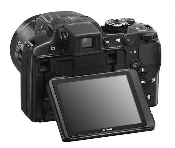 Nikon-P510-atrás Nikon Coolpix P510 Sports (42x) 1000mm Zoom