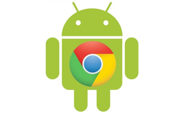android-logo-with-chrome-640x395 Google Chrome Arrives For Android ICS 4.0