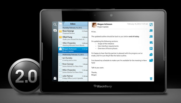 blackos Blackberry Playbook OS 2 Update Includes Android Emulation