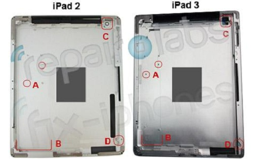 ipad3-housing iPad 3 Unveiling In March
