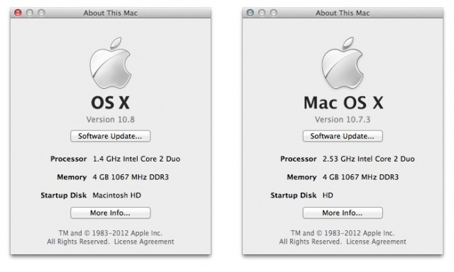 mac Apple Introduces OSX Mountain Lion