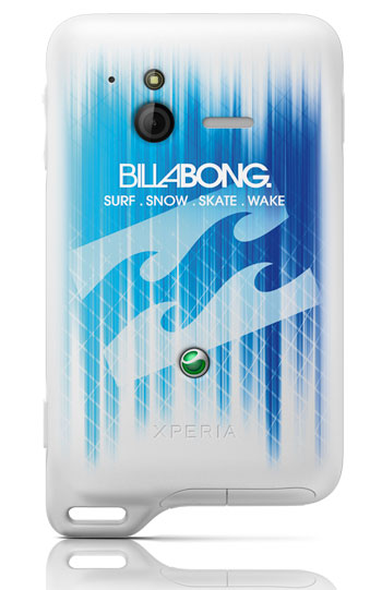 xperia-billabong Sony Ericsson Xperia active Billabong Edition for Extreme Types