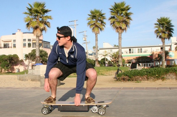 zboard-motorized-skateboard-1 The ZBoard Weight-Sensing Electric Skateboard