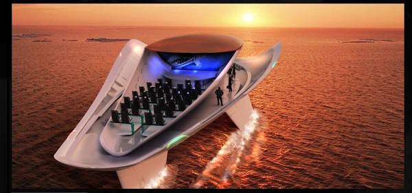 Allochroous The 2012 Millennium Yacht Design Award Goes to Allochroous