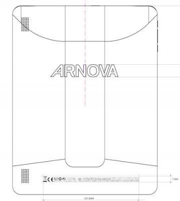 FCCarnova Archos Arnova 9 G3 tablet Hits The FCC Website
