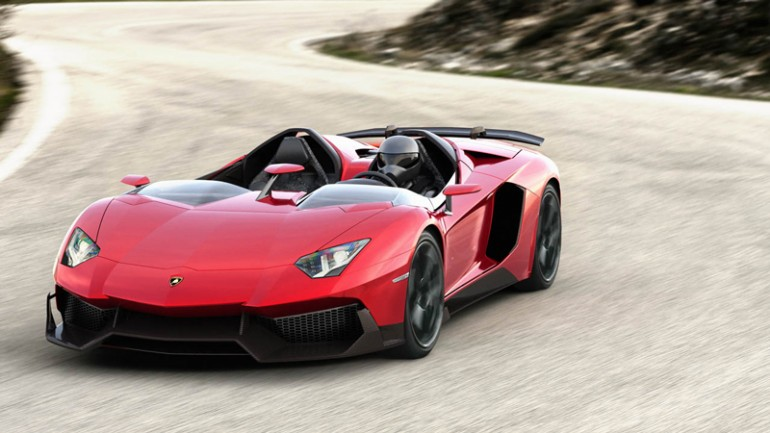 aventadorj-2 Lamborghini To Unveil 'Batmobile' Of A Car At Geneva Motor Show