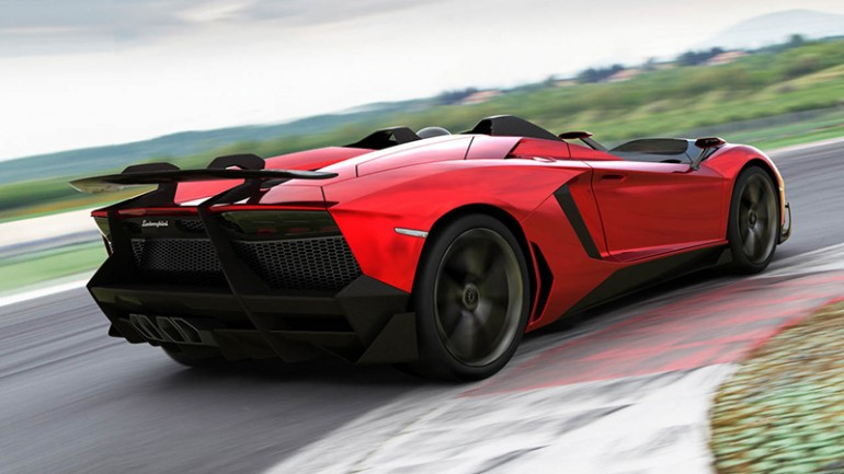 aventadorj-5 Lamborghini To Unveil 'Batmobile' Of A Car At Geneva Motor Show