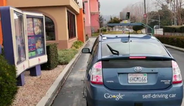 googledriver Blind Man Drives Thanks to Google's Self-Driving Car (Video)