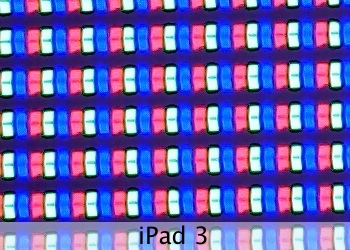 iPad_3 What The New iPad Looks Like Under A Microscope