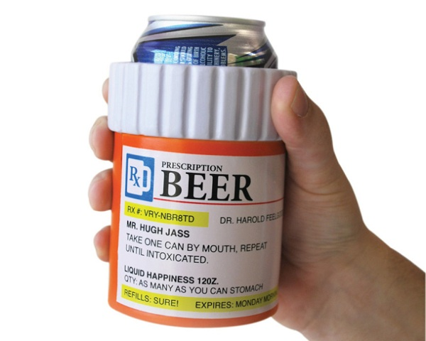 prescription_beer-holder Prescription Bottle Beer Holder For Mr. Hugh Jass