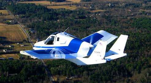 120405-fly The $300k Street Legal Flying Car (Video)