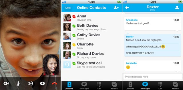 120430-skype  New UI and Features for Skype iOS Apps