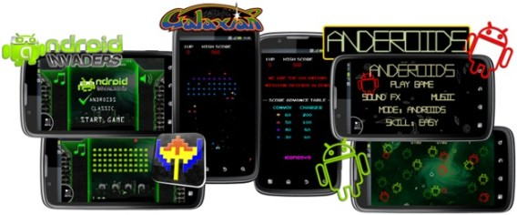 android Iconosys Releases Mobile Space Invaders, Asteroids and More Classics