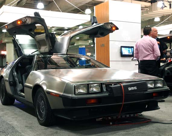 dolorean1 DMC To Make All-Electric Delorean