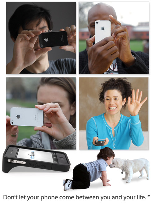 "phoneface New ""MirrorCase"" Allows You To Take Photos And Video Horizontally"