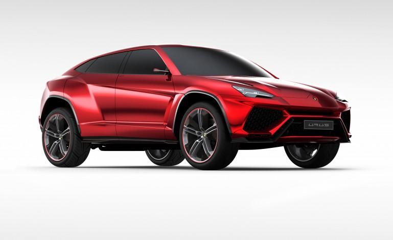 urus1 Lamborghini For The Family! Urus SUV Concept Unveiled In Beijing