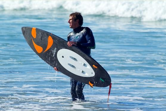 wavejet-0 WaveJet: First Ever Internally Propelled Surfboard with 20 lbs of Thrust