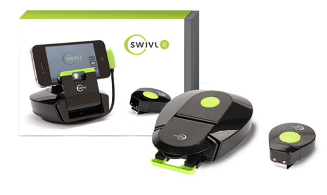 Swivl-it Swivl-it: The Cheaper Swivl Smartphone Dock