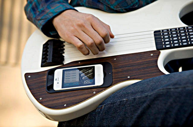 gtar Learn To Play Guitar Using gTar And Your iPhone