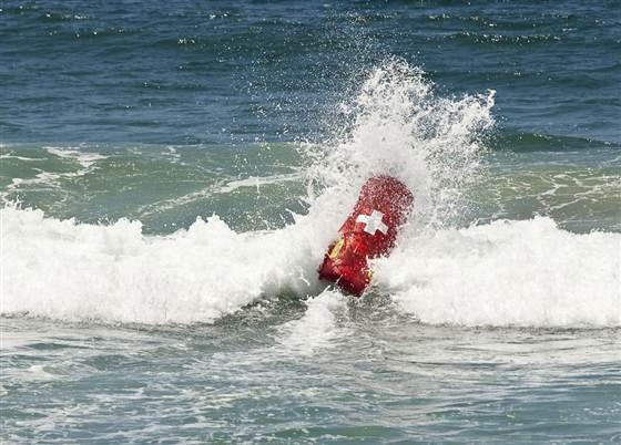 robotsave So-Called Robot Lifeguards Hit Zuma Beach In Malibu