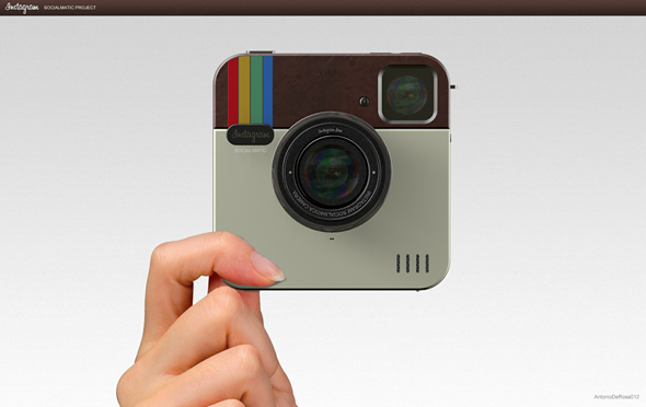 soc1 Instragram Socialmatic Concept Camera